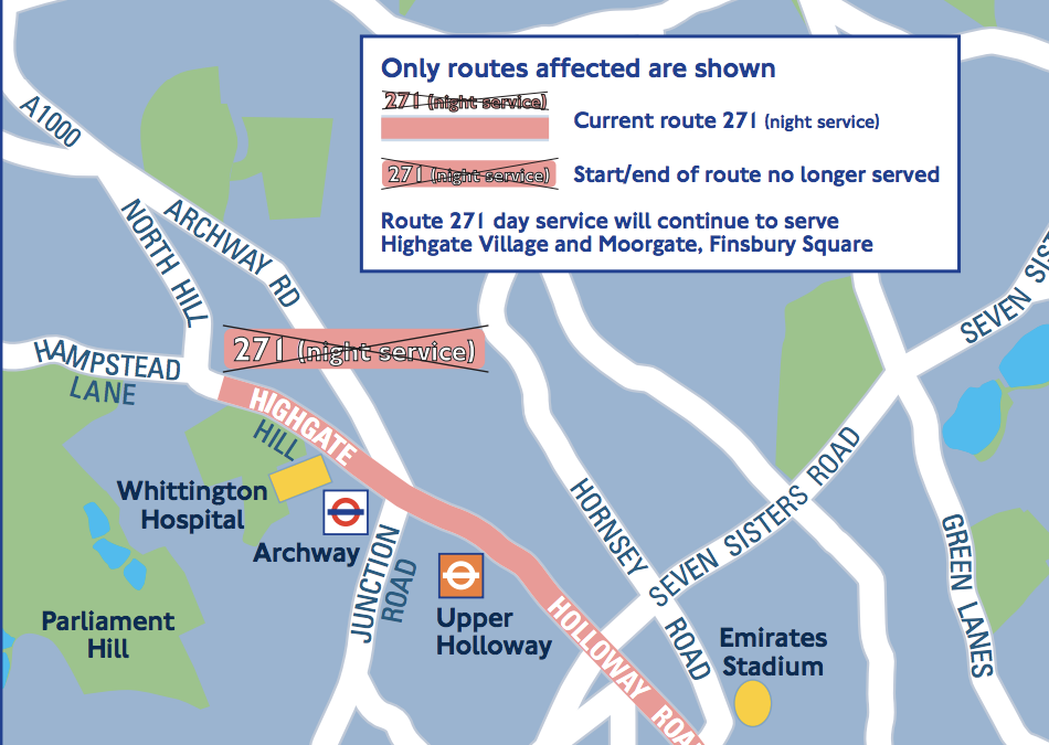 TfL consultation – 271 night buses