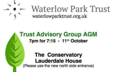Waterlow Park Trust Advisory Group AGM