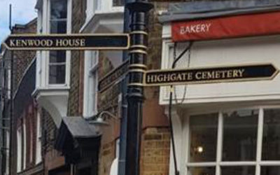 Welcoming visitors to Highgate