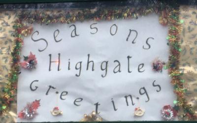 Christmas Celebrations in Highgate: December 2020 newsletter