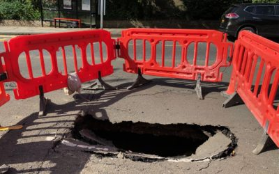 Sink holes in Highgate